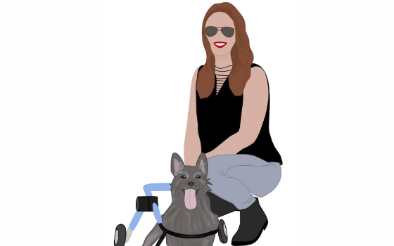 Illustration of Heather Nelson from Barktown Rescue