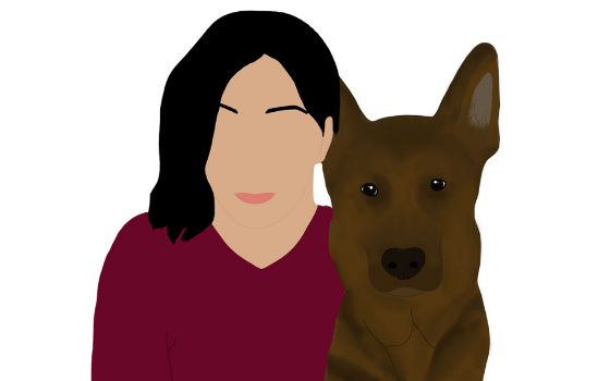 Illustration of Karina from Trina & Friends K9 Rescue
