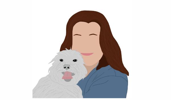 Illustration of Patti From Dallas Dog