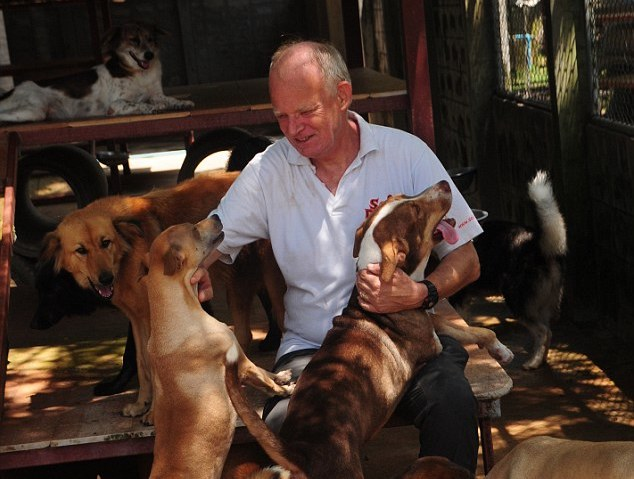 john dalley and dogs