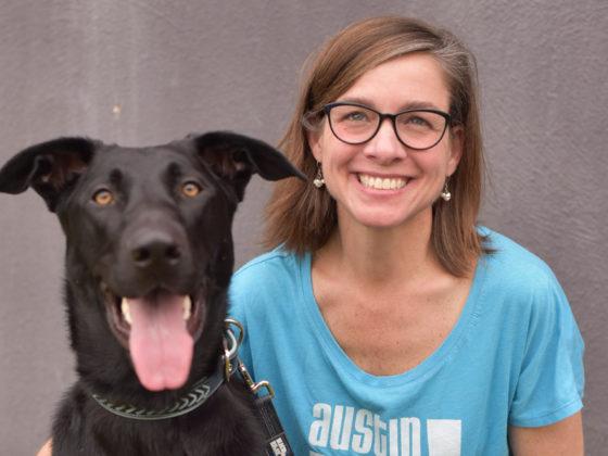 dr ellen jefferson and black dog