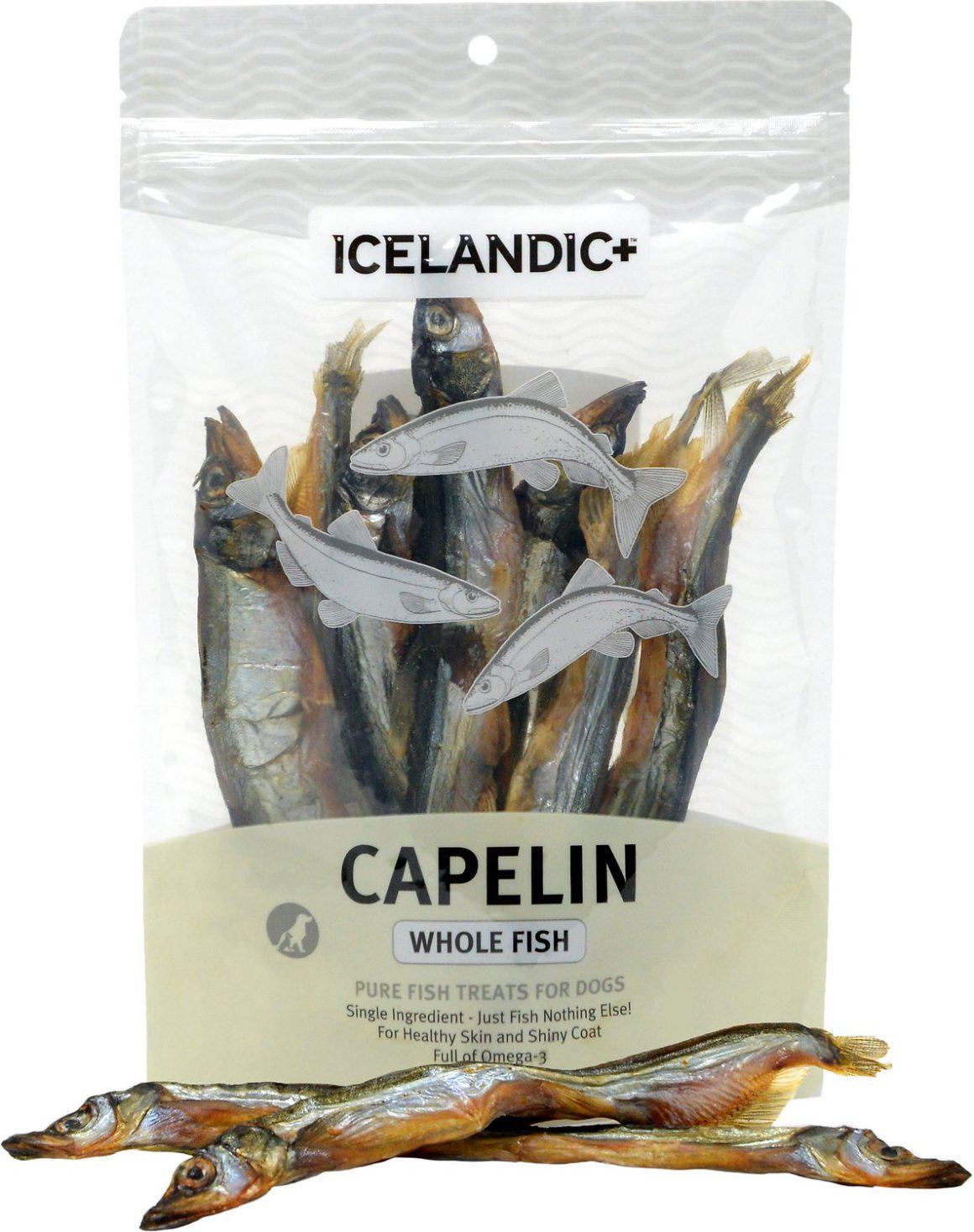 Icelandic+ Capelin Whole Fish & Pieces